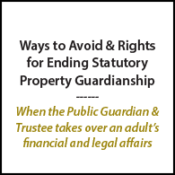 Avoid Guardianship