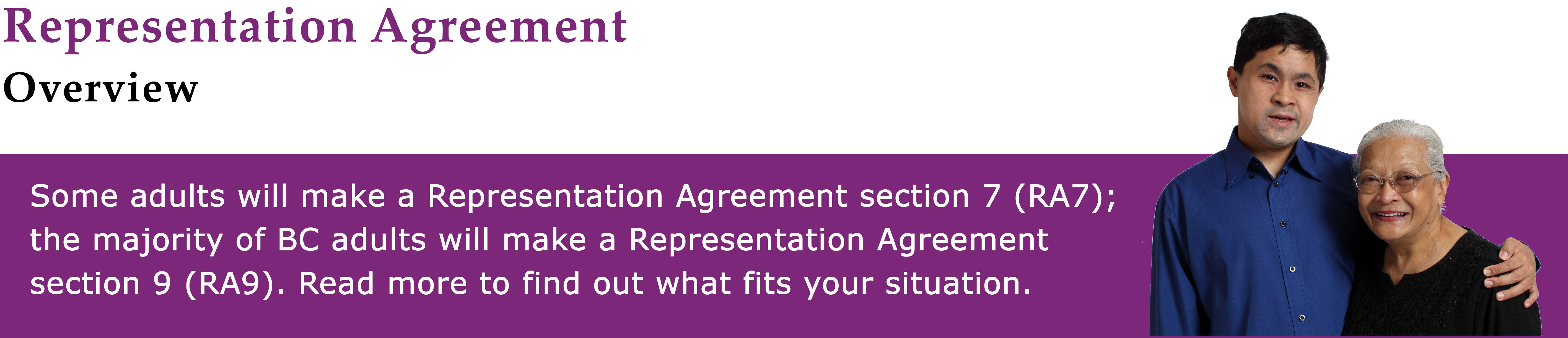 Representation Agreement Overview